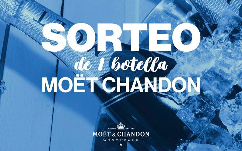 Sorteo 1 Botella MOET CHANDON
